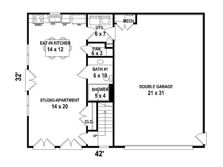 Amazing Garage Apartment Plans | Two Car Garage Apartment Plan # 006G 0117 At  TheGaragePlanShop.com