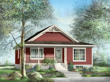 Country Cottage Plan, 072H-0179