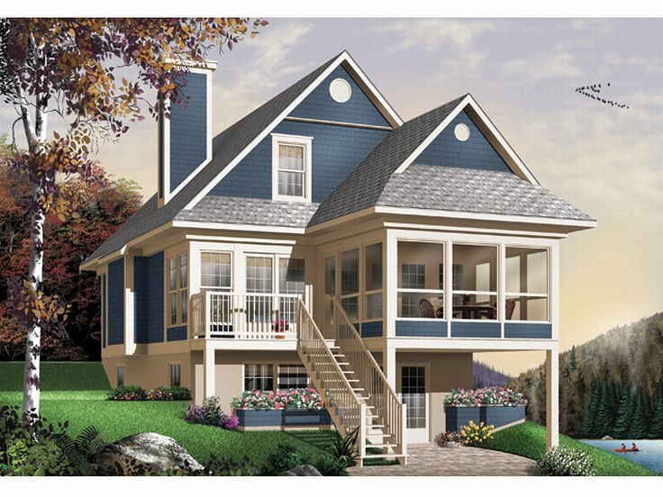 Plan 027H0141 Find Unique House Plans Home Plans and Floor