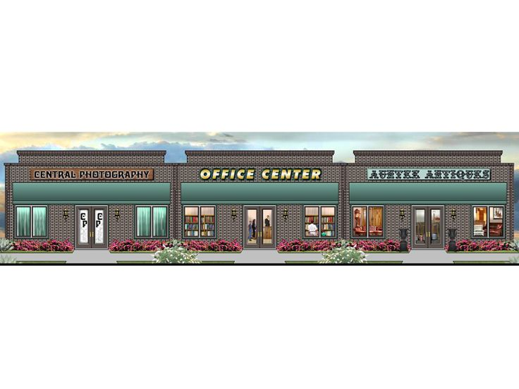 Strip Mall Plan, 006C-0032
